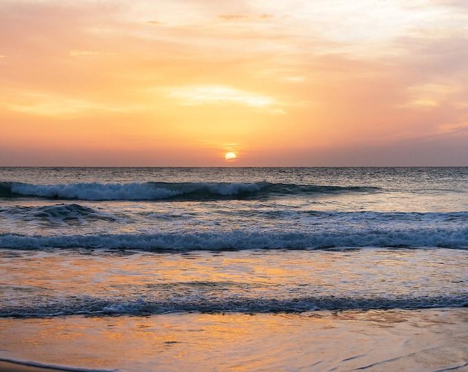 SUNSET SEASCAPE PRINT