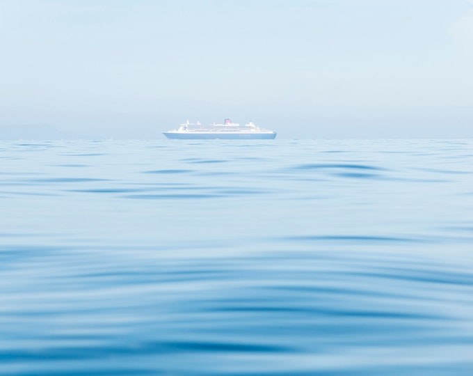 COLOUR CRUSE SHIP Print