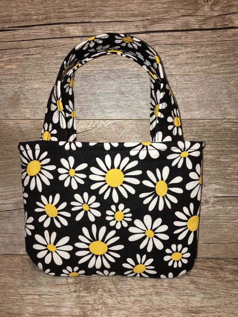 3b82d3d9369 Toddler girl purse, kids handbags, baby purse, cute purses, girls  accessories, toddler girls, girls purse, daisies, black and white