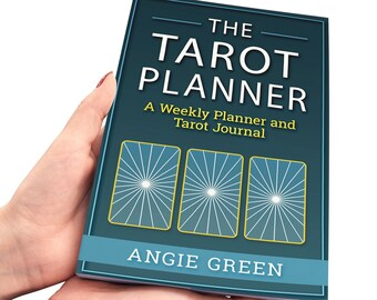 Pdf Printable 2019 Weekly Tarot Planner With Tarot Spreads And Etsy