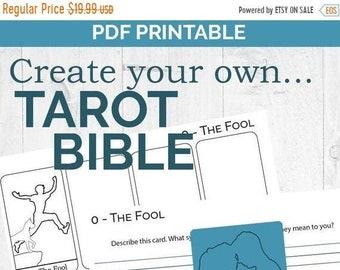 Tarot card printable | Etsy