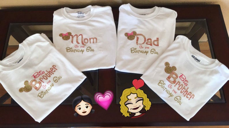 71102094 SALE Mommy Daddy T-Shirt Shipped Minnie Mickey Mouse Mom | Etsy
