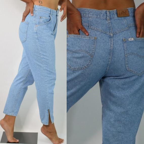 80s Mom Jeans | High Waist Mom Jeans | Lee Mom Jea