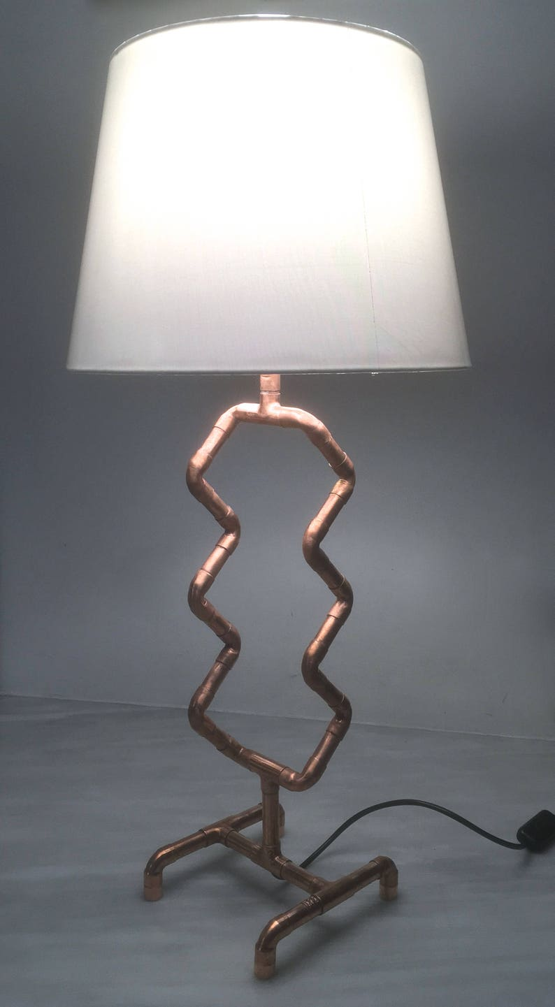 Table Lamp Copper Lamp Copper Home Decor Modern Lighting Desk Lamp Fashion Lighting| One of a kind BedSide Lamp Steampunk Lamp