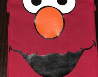 Elmo Sesame Street inspired T-shirt, MORE CHARACTERS AVAILABLE!