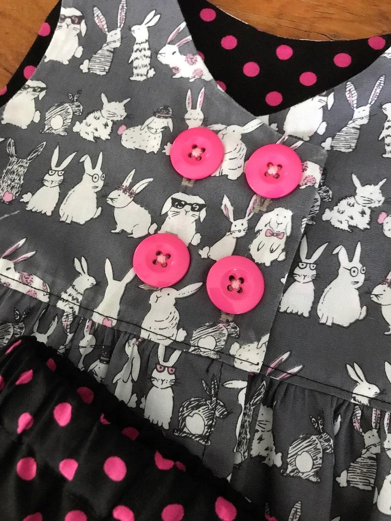 Girls Summer Set  Size 1  Bunny Print