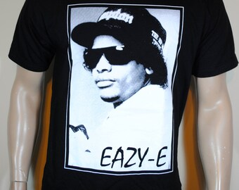Eazy E T shirt Mens Tee Compton