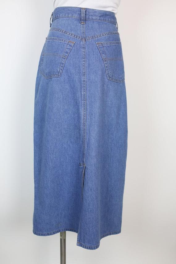 80s RALPH LAUREN DENIM skirt size 6 - image 2