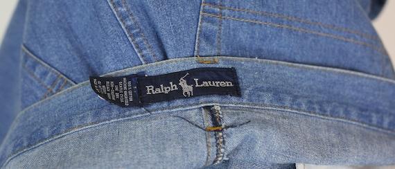 80s RALPH LAUREN DENIM skirt size 6 - image 6