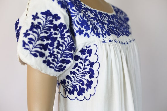 MEXICAN EMBROIDERED DRESS cotton - image 4