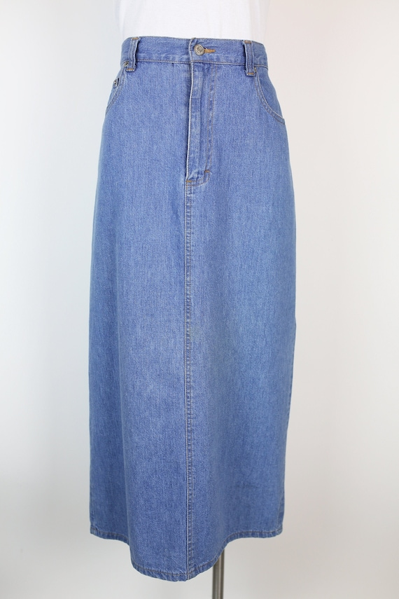 80s RALPH LAUREN DENIM skirt size 6 - image 1