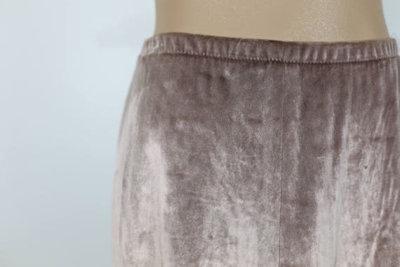 80s DUSTY ROSE SKIRT by Youth Guild Liz Claiborne