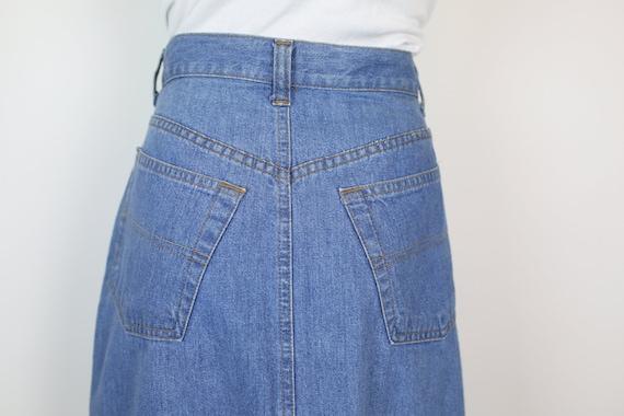80s RALPH LAUREN DENIM skirt size 6 - image 4