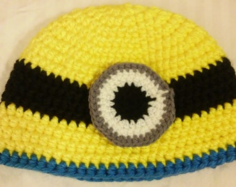 a398a308e8120 Adult minion hat