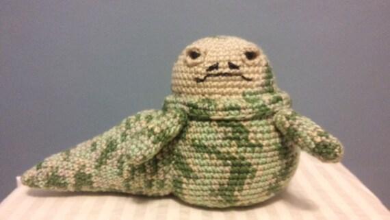 Jabba Der Hutt Puppe Häkeln Jabba Figur Star Wars Etsy