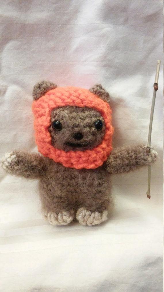 Häkeln Sie Ewok Puppe Ewok Figur Kinderzimmer Dekoration Etsy