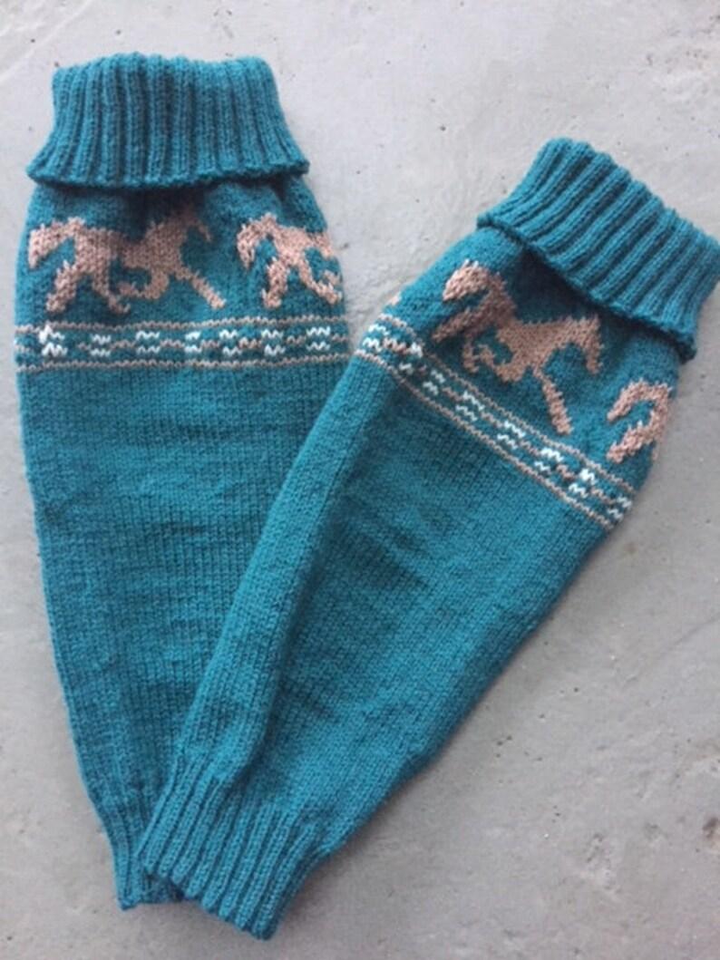 Leg warmers Horses