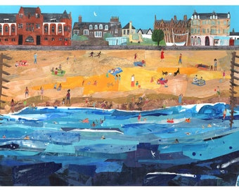Portobello Beach, Edinburgh Print