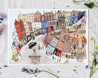 Victoria Street, Edinburgh Print