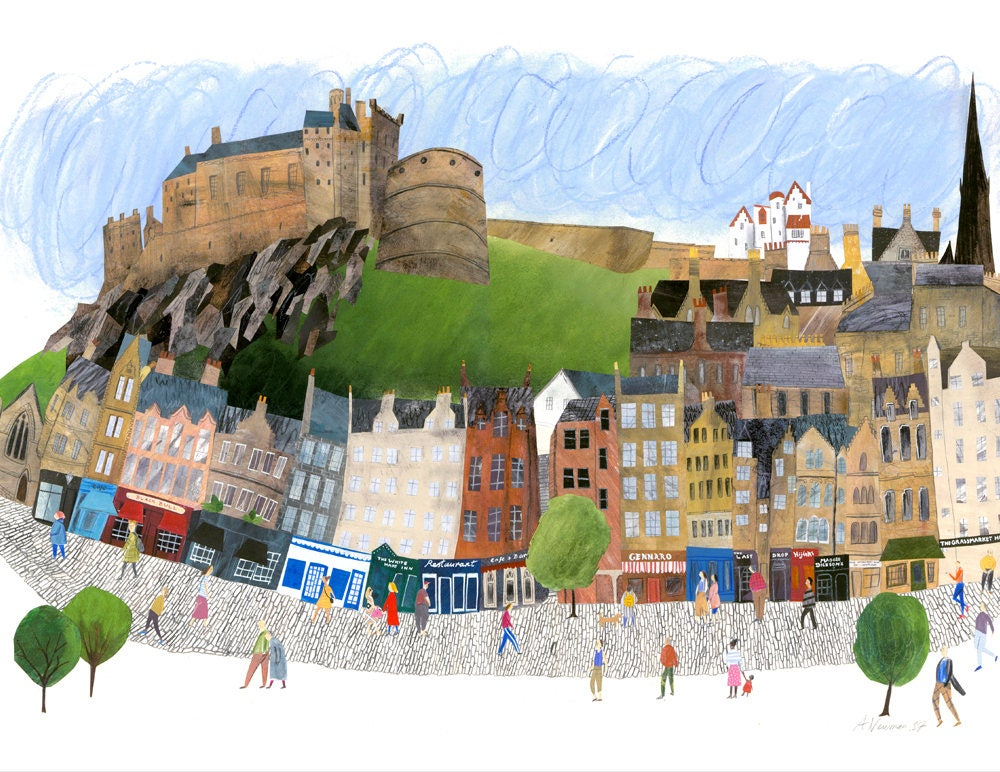 Edinburgh Castle | Art Prints