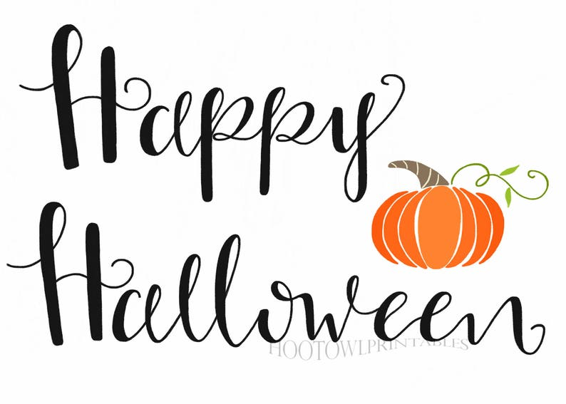 photograph regarding Happy Halloween Printable identified as Halloween Printable Signal, Halloween Decor, Content Halloween Indication, Halloween Wall Artwork, Immediate Obtain