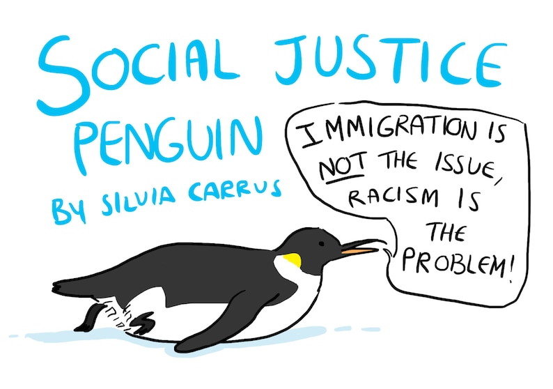 Social Justice Penguin Comic image 1