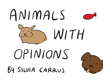 Animals With Opinions Comic