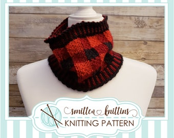 Hearts Amour Cowl  neck warmer  Fair Isle  adult  womens  teens  Valentines  Heart  Knitting Patterns PDF Instant Download ONLY