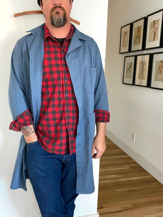 Vintage 1960s Mechanic Work Shirt • Vintage Covera