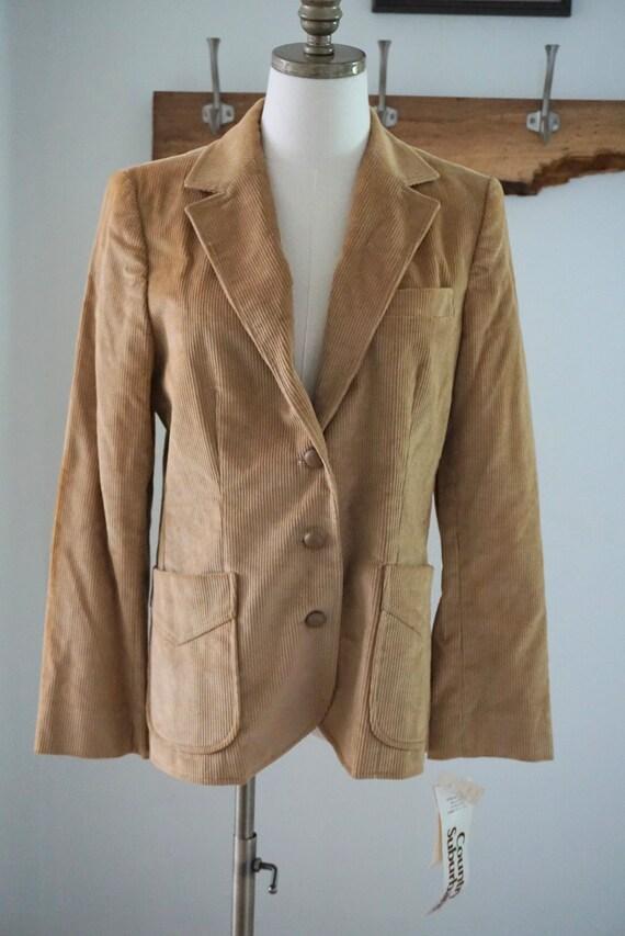 Vintage 1970s Deadstock Courdory Blazer