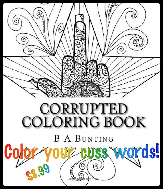 Items Similar To Corrupted Coloring Book