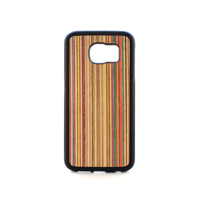 reputable site 301e6 7e826 Wood case for Samsung Galaxy S6 - S6 Wooden Case - Recycled Skateboard - S6  Case Wood - Case for Galaxy S6 Wood - S6 edge protective case