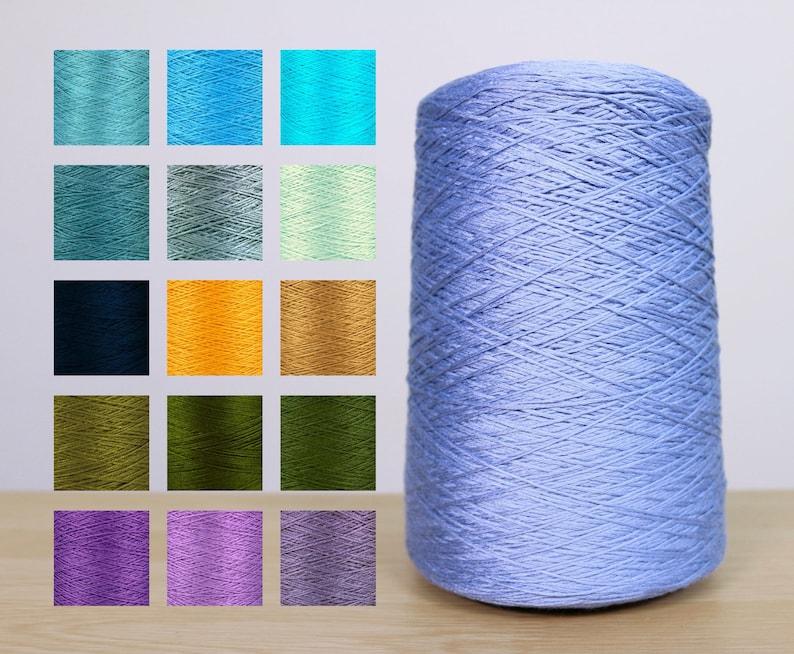 Bamboo Viscose Cone Yarn #2 30s/2x6 Machine Knit Hand Knit Crochet Yarn  Rayon