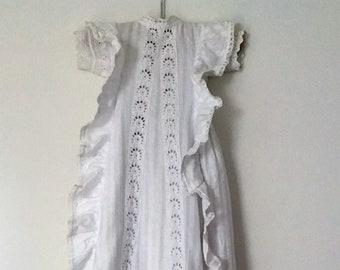 Antique Christening gown 1889-1896