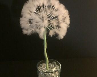 Needle felted Dandelion