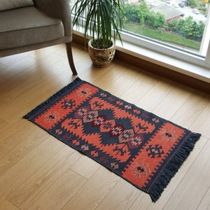 1/'8/'/'x4/'3/'/' Bathroom Rug,Door Mat Rug,Vintage Small Rug,Anatolian Small Rug,Small Carpet,Teppich,Boho Rug,Oriental Rug,Handmade Rug