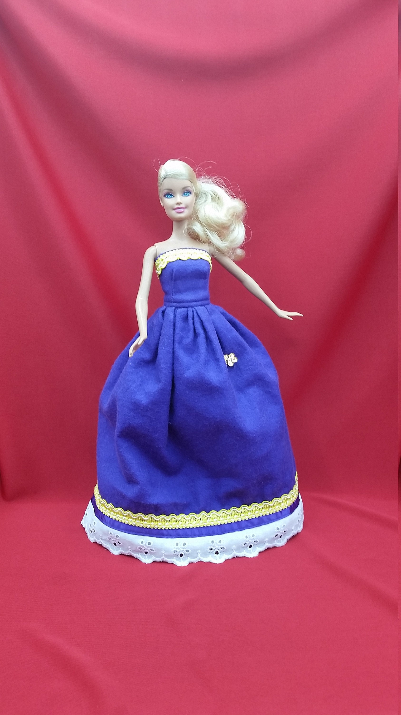 Handmade New For Barbie Ballgown For Barbie Gown For Barbie Doll For Barbie Dress