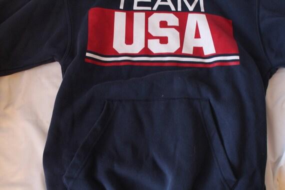 90 90 90 ' s Vintage équipe USA Hoodie moyen livraison gratuite ca7b14