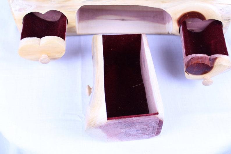 Handmade Pine Jewelry Box