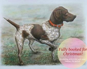 Custom Pet Portrait, Custom Dog Portrait, Custom Dog Drawing, Pet Portrait Drawing, Custom Order, Pencil Portrait,Portrait On Paper