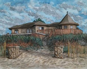 Custom House Portrait, Custom Portrait, Watercolor Painting, House Painting, Watercolour Painting, Custom Watercolor, House Portrait,Cottage