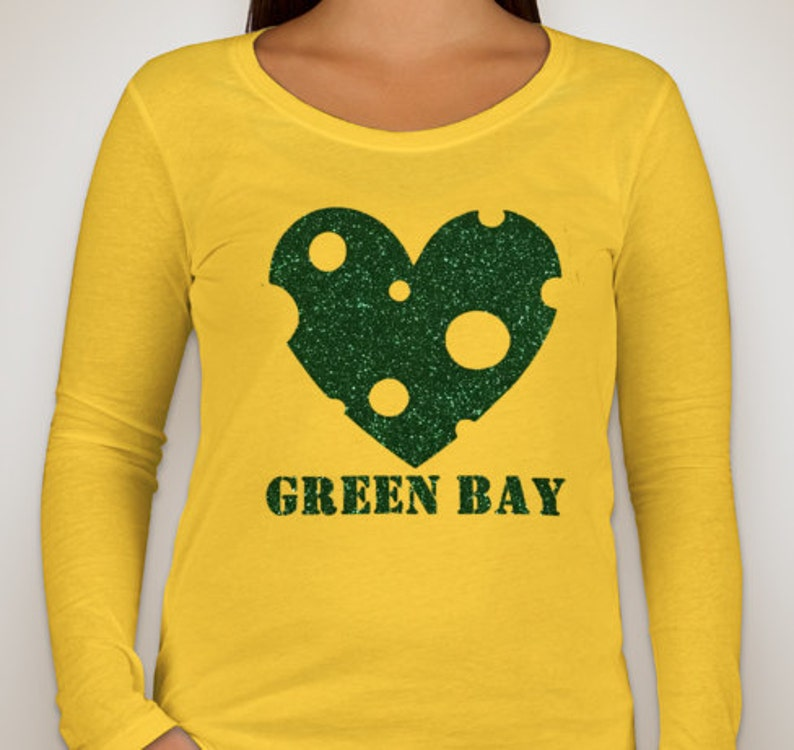 Green Bay Packers Cheese Heart  538debfb2