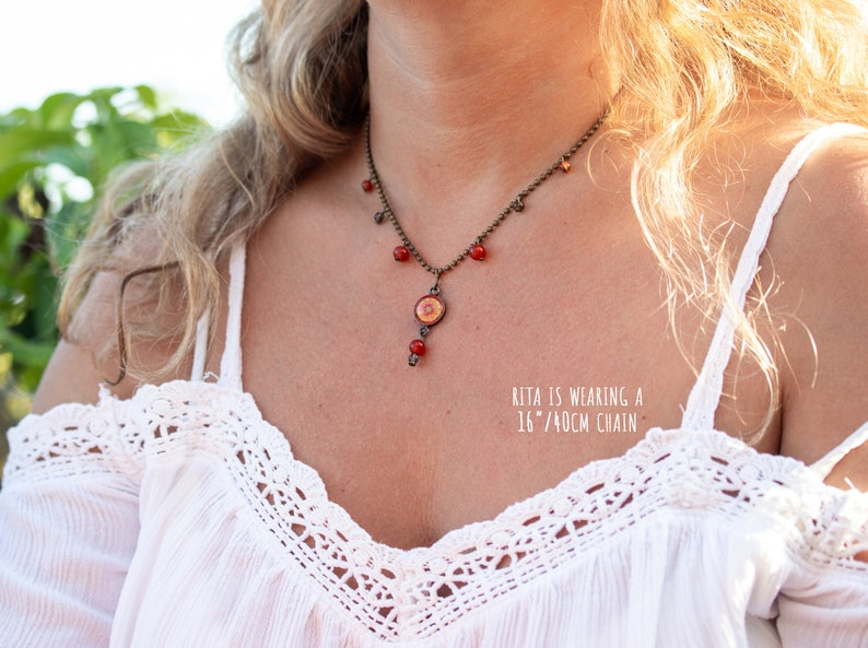 Dainty sun necklace Trendy meaningful necklace Healing crystal necklace Charm necklace  Meaningful gifts for friend Soul sister gift