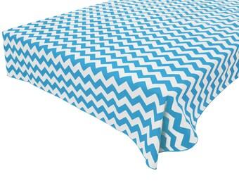 Herringbone Coral /& Aqua by friztin Geometric  Zig Zag Arrow Mod Cotton Sateen Circle Tablecloth by Spoonflower Chevron Round Tablecloth