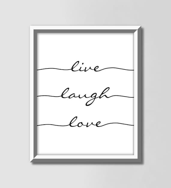 Live Laugh Love Motivational Signs Inspirational Calligraphy Etsy,Country Farmhouse Kitchen Lighting Ideas
