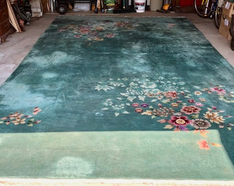 chinese rug etsy. Black Bedroom Furniture Sets. Home Design Ideas