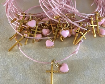 Fast shipping. 20 pcs Martirika Bracelet first communion favors Martyrika Baptism-Birthday Favors