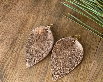 Western Leather Boho Earrings best selling gifts for her modern narrow earrings teenage girl gifts Mothers Day.