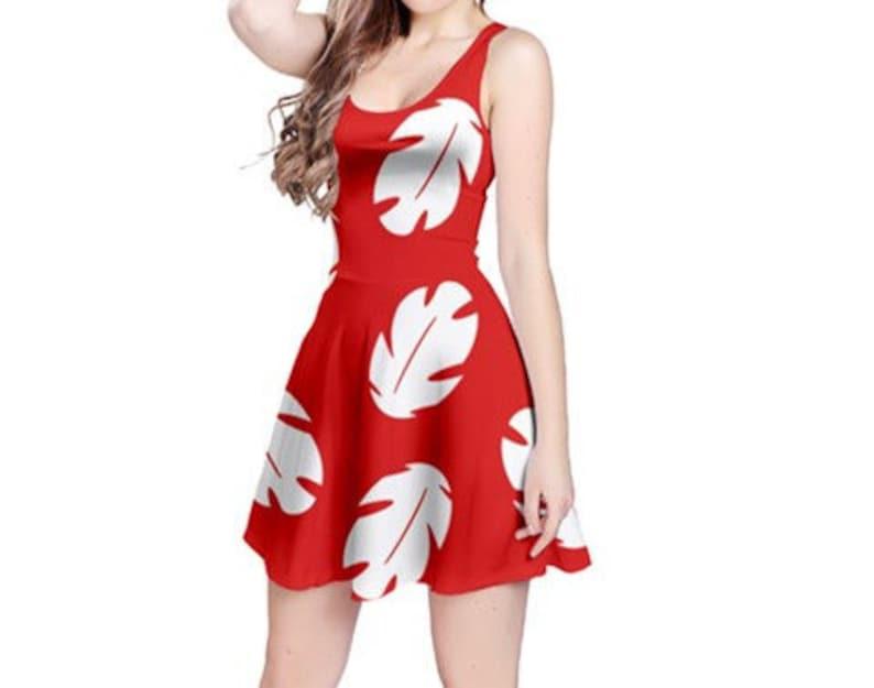 Adult Lilo Dress Lilo Outfit Disney Lilo And Stitch Lilo Etsy