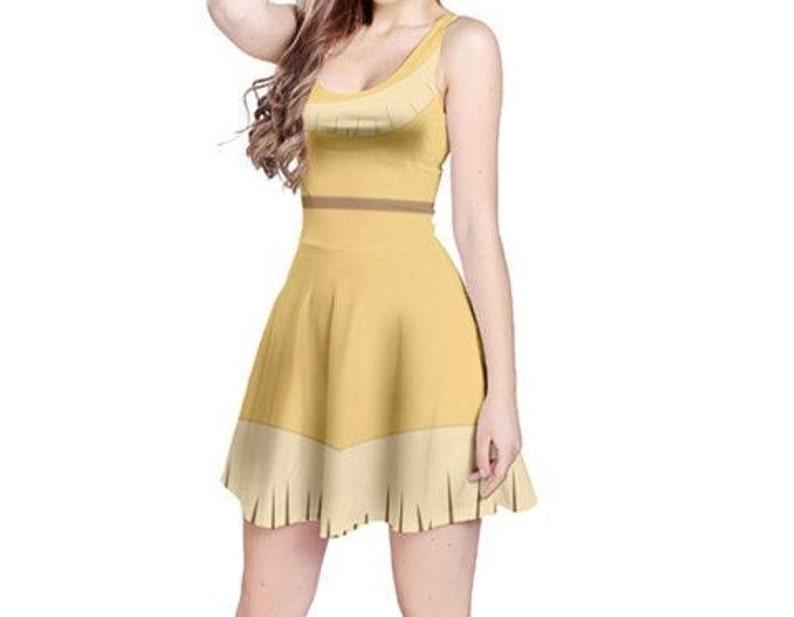 cb145a86070 Pocahontas dress, Pocahontas Costume for Woman, Adult Pocahontas Costume,  Disney Princess
